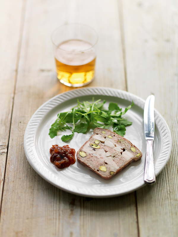 Recipes jempsons for Chicken and pork terrine with pistachio